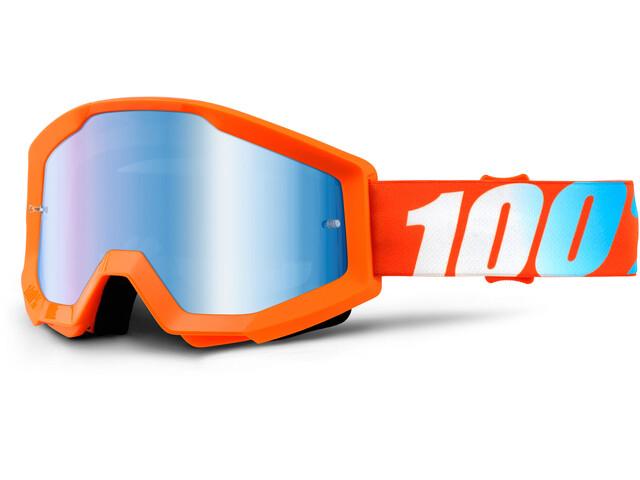 100% Strata Goggles orange
